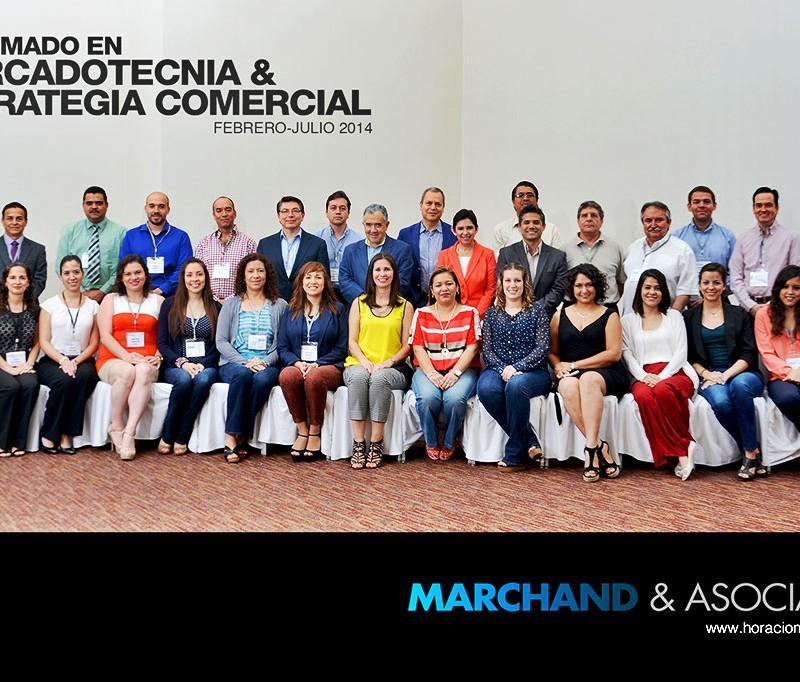 DIPLOMADO EN MERCADOTECNIA & ESTRATEGIA COMERCIAL, Febrero-Julio 2014 - Horacio Marchand
